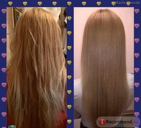 эффект после ботокса, после мытья волосы стали ровно такие как и были,а может и хуже..