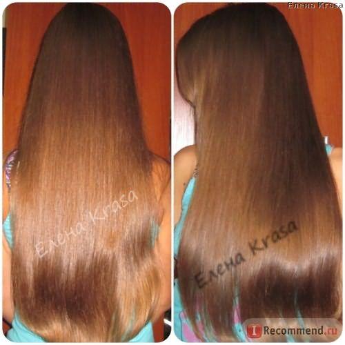 Ламинирование на волосах