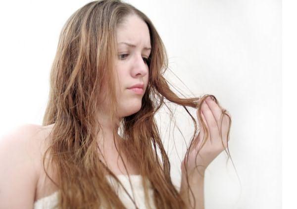 Больные волосы