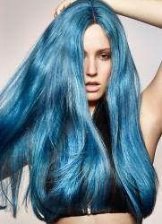 синий тоник для волос