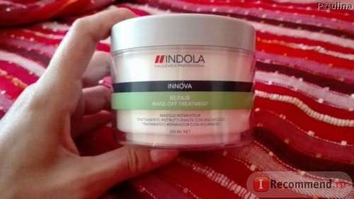 Маска для волос Indola Repair rinse-off treatment фото