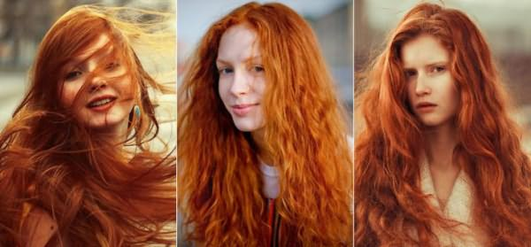 Хна для волос для натурального рыжего цвета