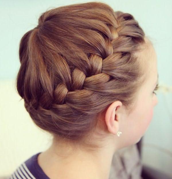 Вплетенная коса