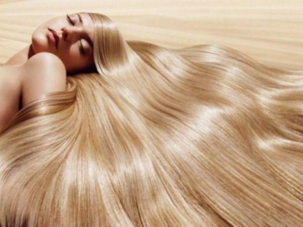 Изумительное сияние ламинированных волос