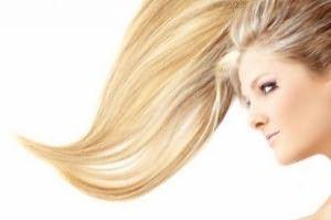 Фото осветленных волос