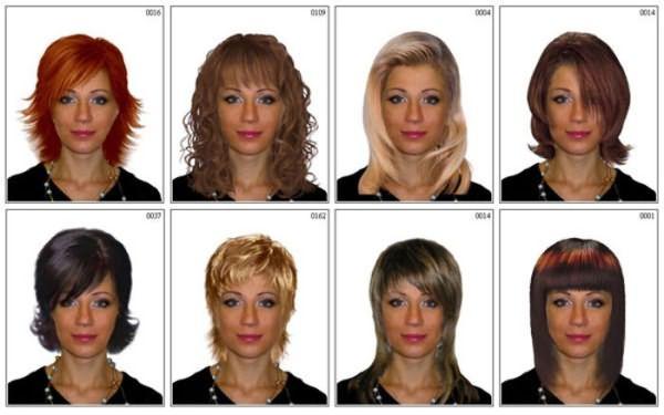 Виды причёсок