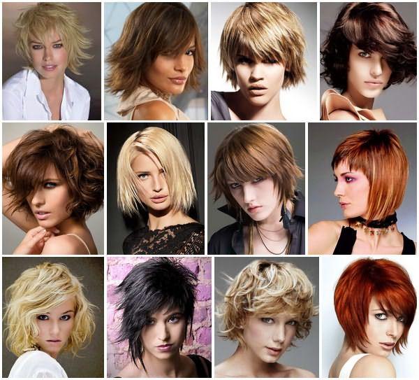 Слоистые стрижки, как нельзя лучше, подходят обладательницам коротких волос