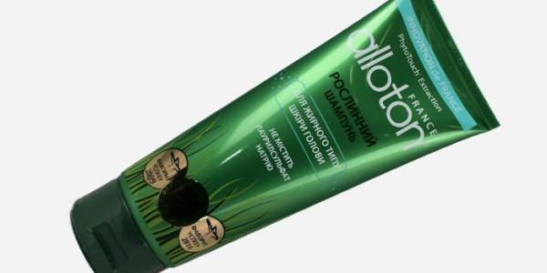 Шампунь Alloton для жирных волос