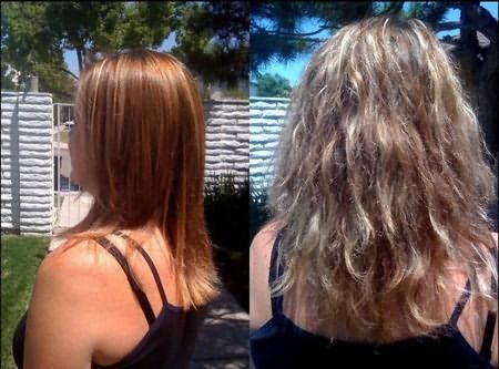 выпрямление волос brazilian blowout