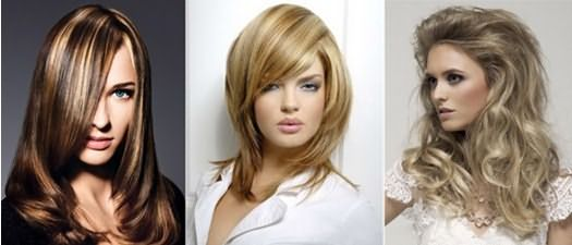 Прически с тонированными волосами
