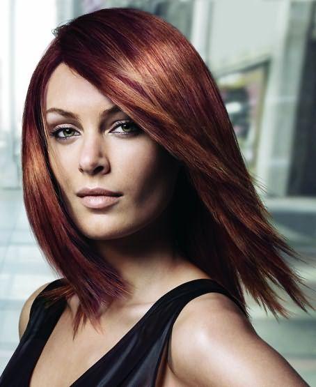 Как вытянуть волосы феном
