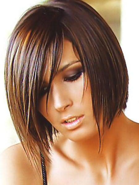 Стрижка аврора на средние волосы 1