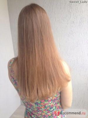 Волосы после шампуня Nutrapel Force Shampoo
