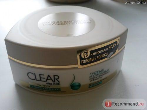 Маска для волос CLEAR VITA ABE Густые и Сильные фото