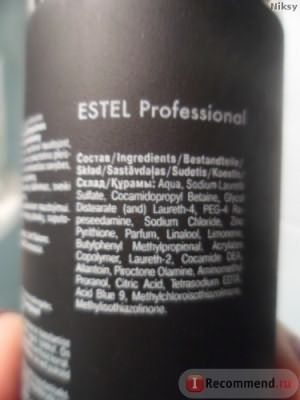 Шампунь для мужчин Estel Professional Otium Homme от перхоти фото
