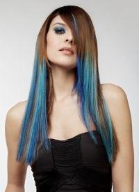 синие пряди 4