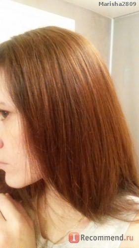Две смывки, верхние волосы смываются отлично, а вот по линии роста волосы сильно затемнены