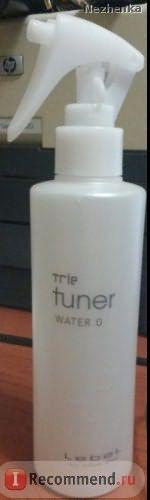 Спрей для легкого расчесывания волос LEBEL cosmetics Trie Tuner Water 0 Шёлковая вуаль фото