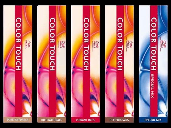 На фото: продукт Color Touch от Wella