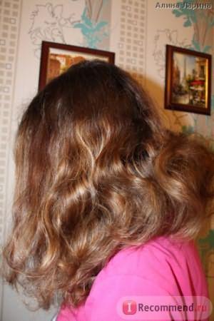 Волосы на этой и последующих фотографиях высушены естественным путем