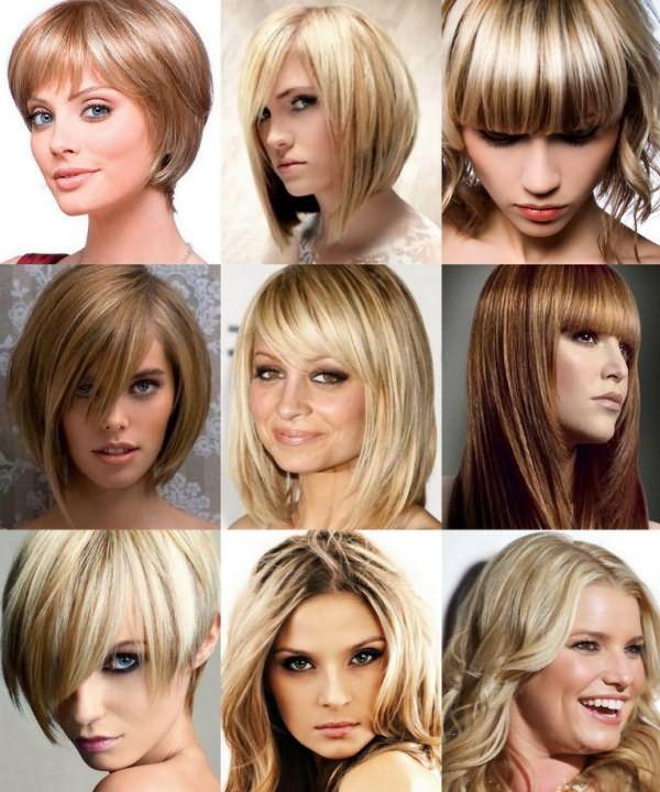 Прически с мелированными волосами