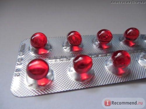 Витамины Витамин Е в капсулах фото