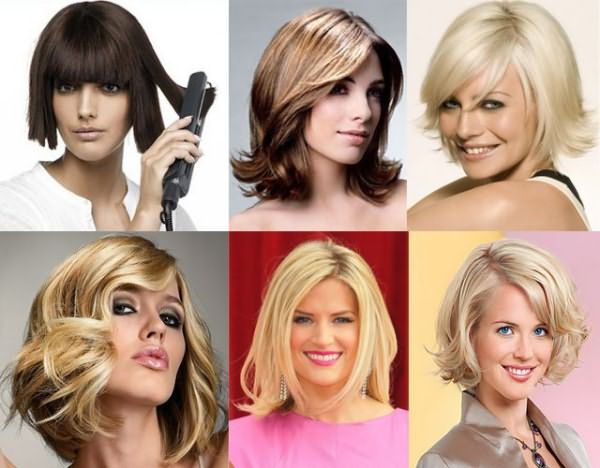 Легко создать локоны на средние волосы утюжком