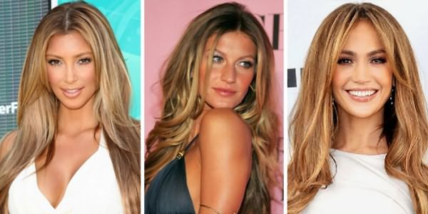 Девушки с брондированием волос в светлых тонах