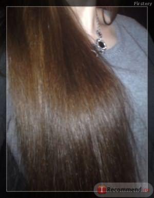Волосы при вспышке