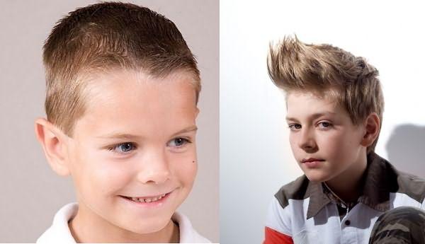 Прически мальчиков младшего школьного возраста