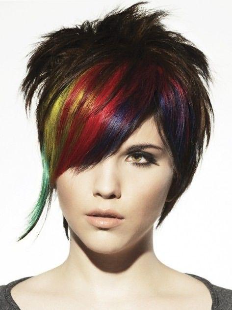 Цветные волосы