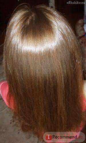 блеск волос делает меня счастливой...)))