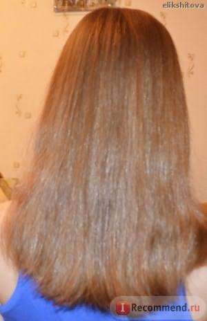 Волосы на данный момент. Месяц февраль. Заметно отрасли за 2 месяца