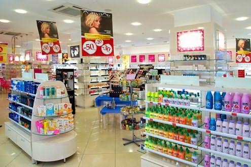 В магазинах косметики представлен огромный выбор красок различного оттенка