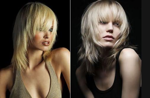Градуировка на средних волосах