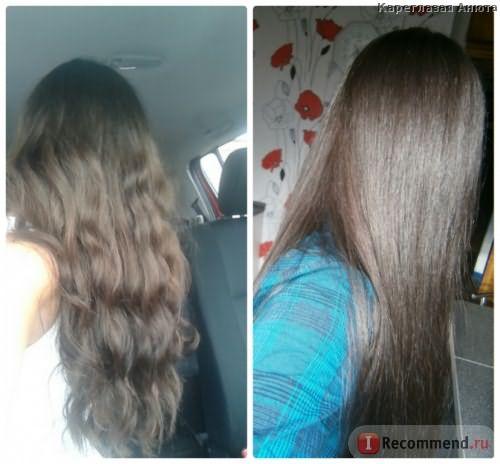 Фото цвета до и после при дневном свете