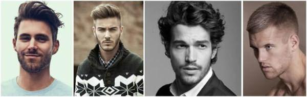 Мужские причёски для овального лица: «канадка», «бокс», стрижка с челкой