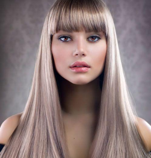Макияж для пепельного цвета волос