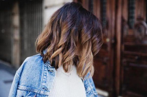 покрасить волосы омбре