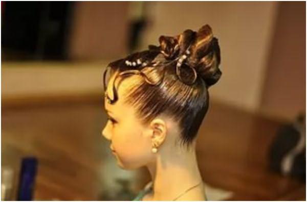 Чтобы выбрать причёску для бальных танцев, при ее моделировании следует учитывать, что рост танцующих должен быть одинаков