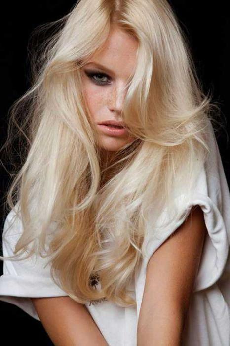 красивые волосы без желтизны