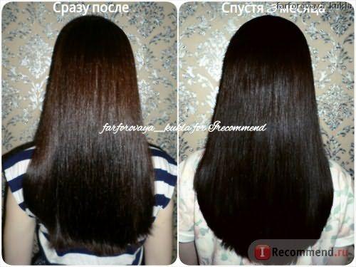 Волосы после ламинирвоания
