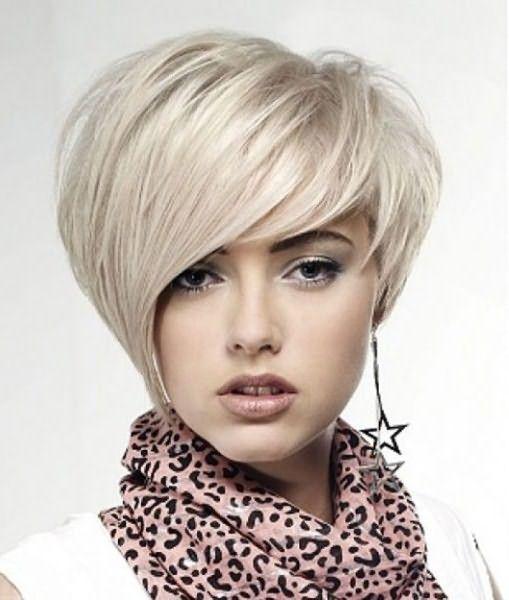 Асимметричная стрижка шапочка на средние волосы с челкой требует особой укладки