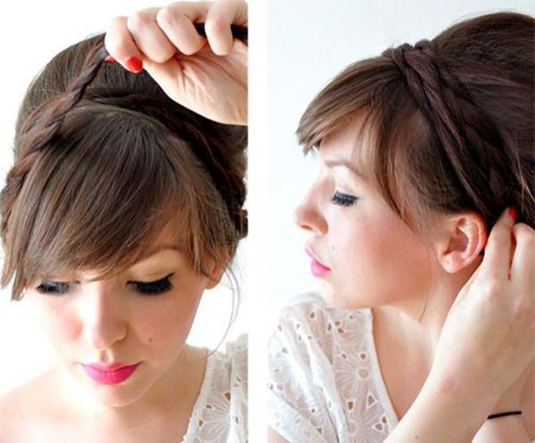 женские прически для длинных волос