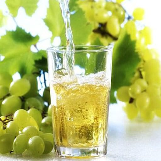 Сок белого винограда – отличный ингибитор.
