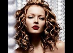 лёгкая химия на средние волосы