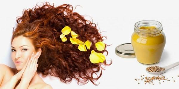 Горчичная маска для быстрого роста волос