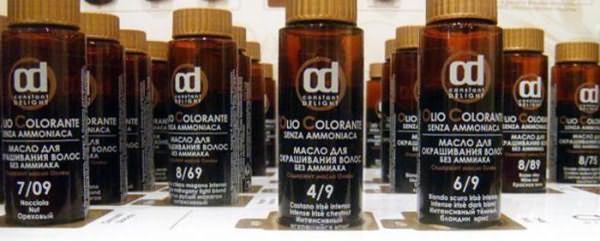 масло для окрашивания волос constant delight