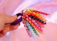 резинка спираль для волос8
