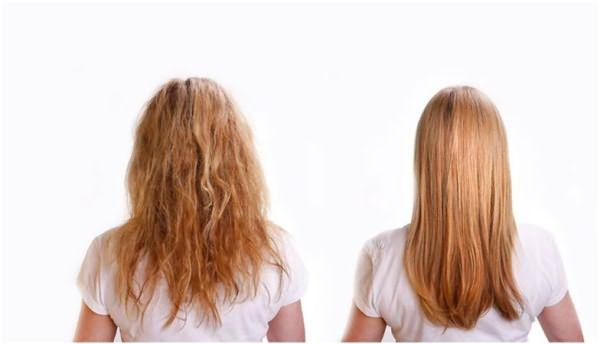 Результат окрашивания волос